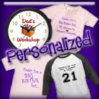 Personalized T-shirts and Gifts