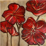 Red Poppy Art