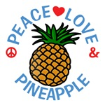 Peace Love Pineapple Shirts