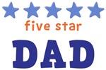 Five Star Dad Shirts
