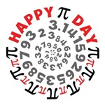 Happy Pi Day T-shirts