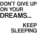 Sleeping Funny Saying