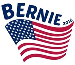Bernie 2016 US Flag