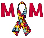 Autism Ribbon Mom Gifts