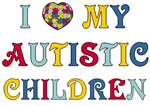 I Love My Autistic Children Tees and Products