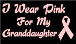 Breast Cancer Support Granddaughter Tee