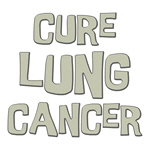 Cure Lung Cancer Shirts