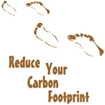 Reduce Your Carbon Footprint T-shirts