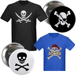 Jolly Roger Shirts and Gifts