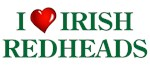 I Heart Irish Redheads T-shirts