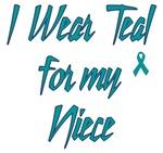 Ovarian Cancer Support Niece Shirts
