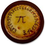 Pi Day Pie Button