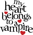 My Heart Belongs To a Vampire Shirt