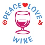 Peace Love Wine Shirts