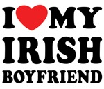 I Love My Irish Boyfriend Shirts