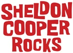 Sheldon Cooper Rocks T-shirts