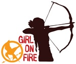 Girl On Fire Shirts