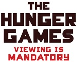Hunger Games Viewing Is Mandatory T-shirts
