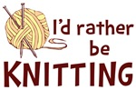I'd Rather Be Knitting Shirts