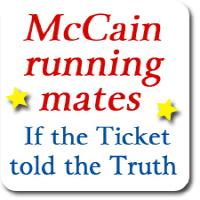 McCain Running Mates