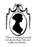 Jane Austen Bumper Stickers and Buttons
