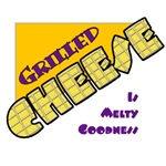 Grilled Cheese Is Melty Goodness T-Shirts & Gifts