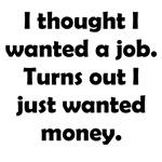 Job vs Money