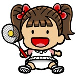Baby Girl Tennis Player