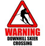 Warning: Downhill Skier