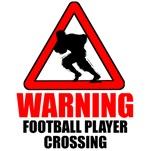 Warning: Football Player