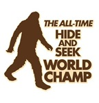 BIGFOOT - THE ALL-TIME HIDE & SEEK WORLD CHAMP