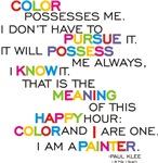 Color Possesses Me