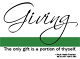 Giving - Emerson Quote