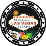 Las Vegas Poker Chip