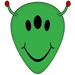 Alien Smiley Face