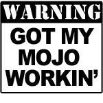 Warning Mojo Working Drinkware