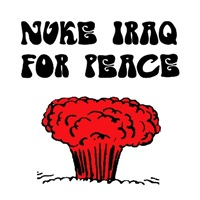Nuke Iraq for peace