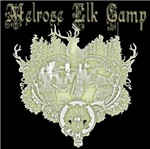 The Melrose elk camp logo looks great on hunting t