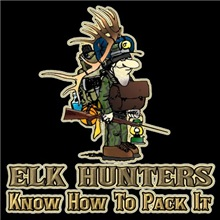 Elk hunters know how to pack it