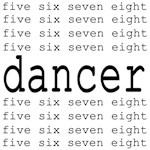 dancer numbers