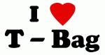 I Love T - Bag