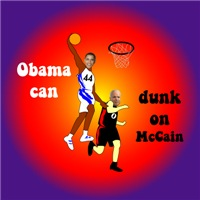 Obama Can Dunk