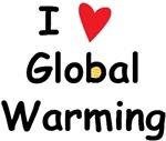 I love Global Warming (water polo t-shirt)