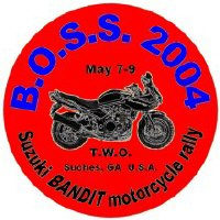 B.O.S.S. 2004 Bandit Motorcycle Rally