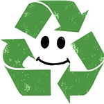 RECYCLE 70's SMILEY