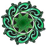 CELTIC GREEN ENERGY KNOTWORK