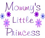 Mommy's little princess purple and blue