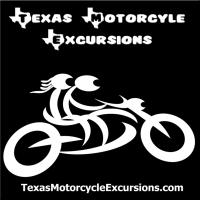 Texas Motorcycle Excursions - White Logo