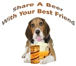  Beagle Shares A Beer