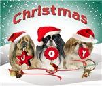 Pekingese Christmas JOY